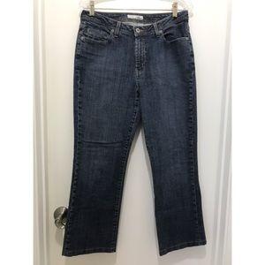 CHICO'S PLATINUM 1.5 Denim Jeans 10 SHORT